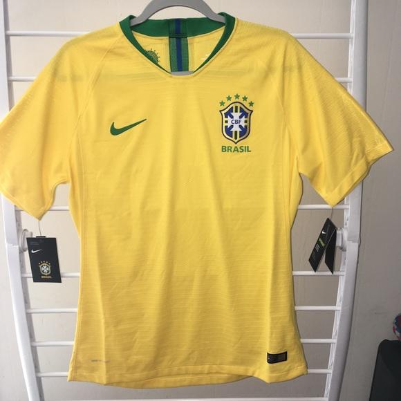 81558469ce1 Nike Shirts   Vaporknit 2018 Brazil Soccer Jersey   Poshmark